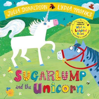 Book cover for Sugarlump and the Unicorn