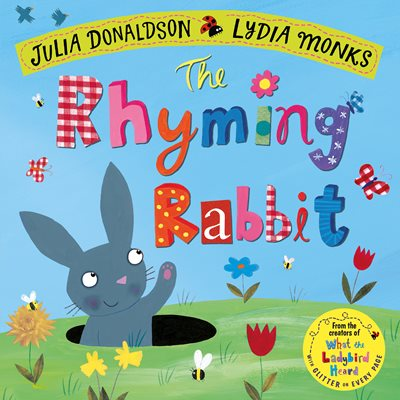 Book cover for The Rhyming Rabbit