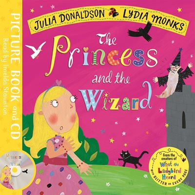 Book cover for The Princess and the Wizard