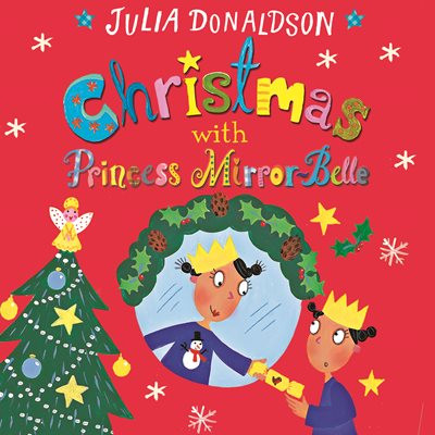 Book cover for Christmas with Princess Mirror-Belle