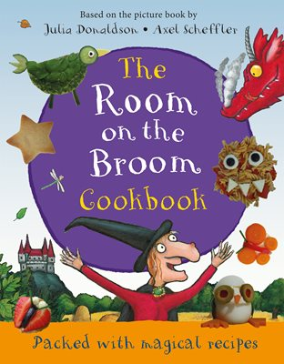 Book cover for The Room on the Broom Cookbook
