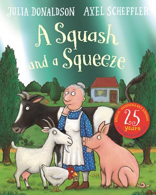 Book cover for A Squash and a Squeeze 25th...
