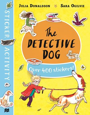 Book cover for The Detective Dog Sticker Book