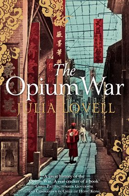 Book cover for The Opium War