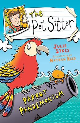 Book cover for The Pet Sitter: Parrot Pandemonium KF