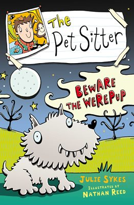 Book cover for The Pet Sitter: Beware the Werepup