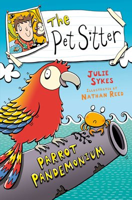 Book cover for The Pet Sitter: Parrot Pandemonium
