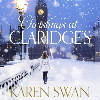 Book cover for Christmas at Claridge's