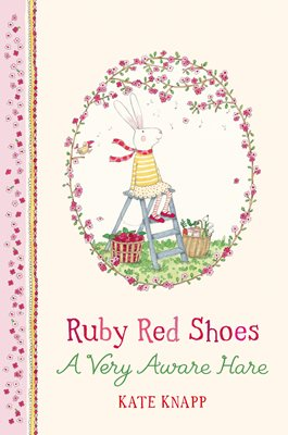 Book cover for Ruby Red Shoes: A Very Aware Hare