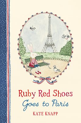 Book cover for Ruby Red Shoes Goes To Paris