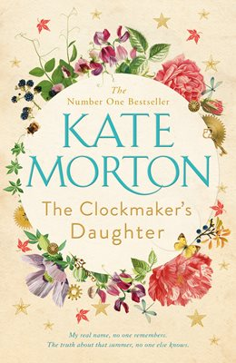 Book cover for The Clockmaker's Daughter