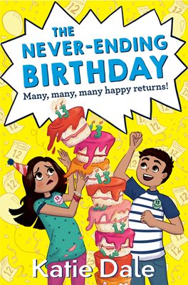 Book cover for The Never-Ending Birthday