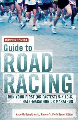 Book cover for Runner's World Guide to Road Racing
