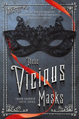 Book cover for These Vicious Masks