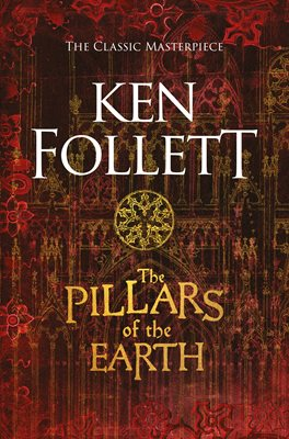 Book cover for The Pillars of the Earth