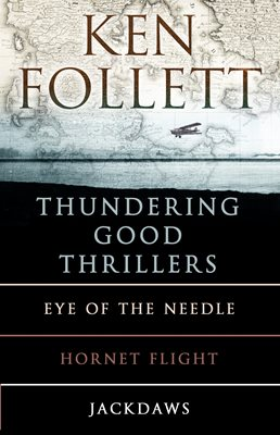 Book cover for Ken Follett's Thundering Good Thrillers