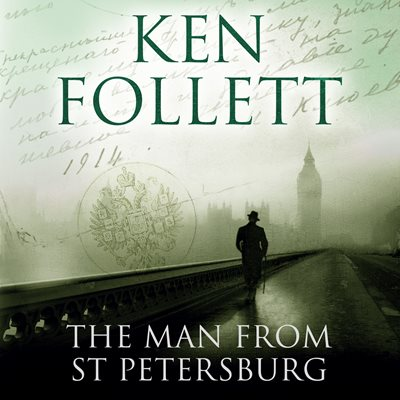 Book cover for The Man From St Petersburg
