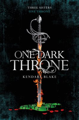 Book cover for One Dark Throne
