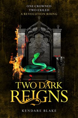 Book cover for Two Dark Reigns