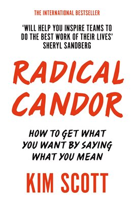 Book cover for Radical Candor