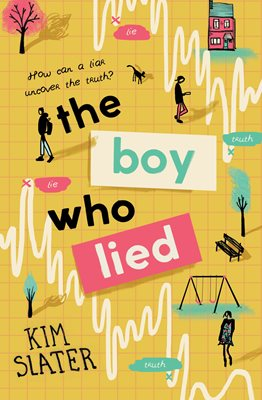Book cover for The Boy Who Lied