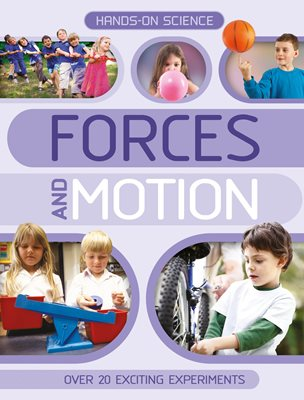 Book cover for Hands-On Science: Forces and Motion
