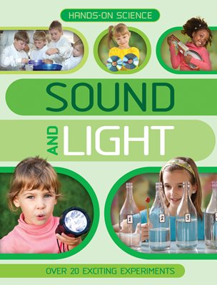 Book cover for Hands-On Science: Sound and Light