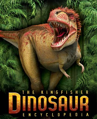 Book cover for The Kingfisher Dinosaur Encyclopedia