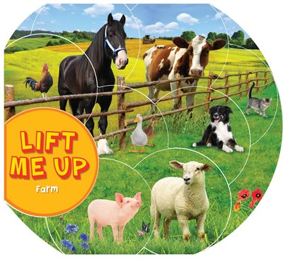 Book cover for Lift Me Up! Farm