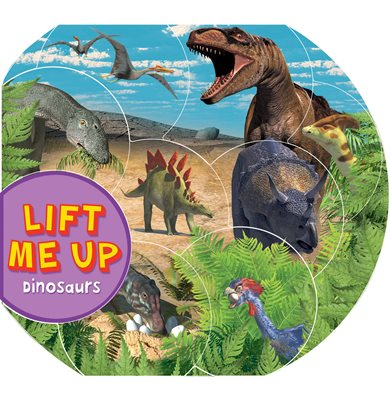 Book cover for Lift Me Up! Dinosaurs