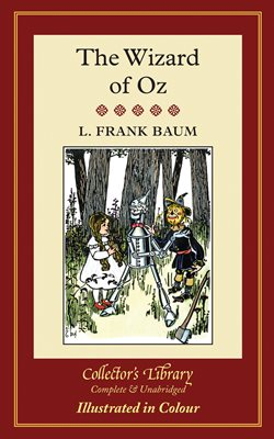 Book cover for The Wizard of Oz