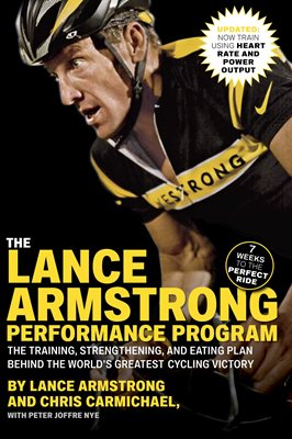 Book cover for The Lance Armstrong Performance Program
