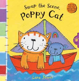 Book cover for Swap the Scene, Poppy Cat