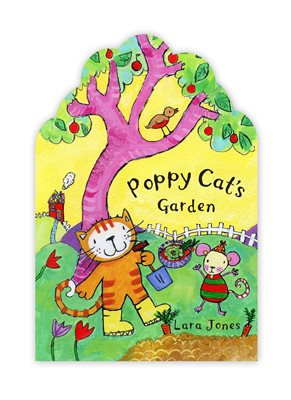 Book cover for Poppy Cat's Garden
