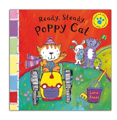 Book cover for Ready, Steady Poppy Cat