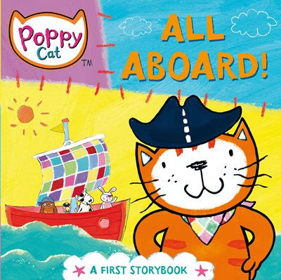 Book cover for Poppy Cat TV: All Aboard!