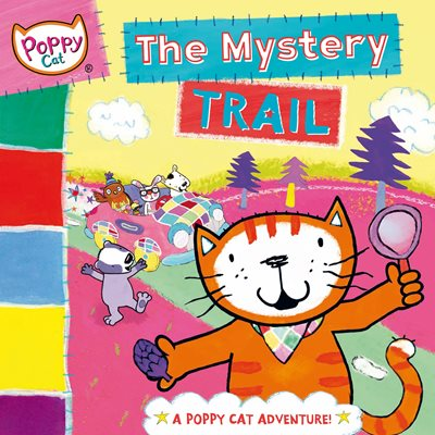 Book cover for Poppy Cat TV: Mystery Trail