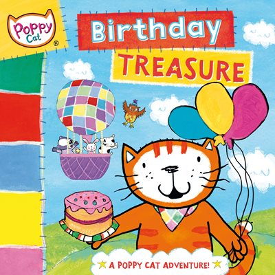 Book cover for Poppy Cat TV: Birthday Treasure