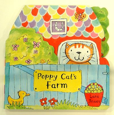 Book cover for Poppy Cat's Farm