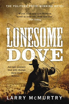 Book cover for Lonesome Dove