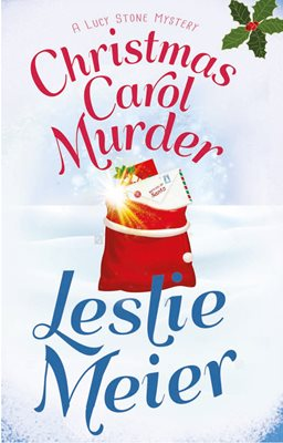 Book cover for Christmas Carol Murder