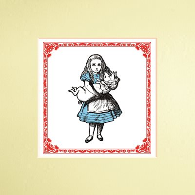 Book cover for The Macmillan Alice: Alice Print