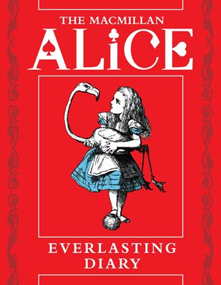 Book cover for The Macmillan Alice Everlasting Diary