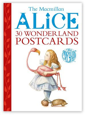 Book cover for The Macmillan Alice Postcard Book