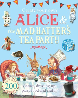 Book cover for Create Your Own Alice and the Mad...