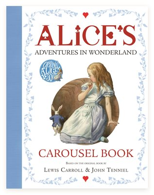lewis carroll alices adventures in wonderland carousel book