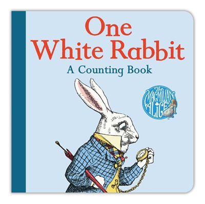 Book cover for One White Rabbit: A Counting Book