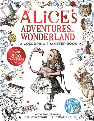 Book cover for Alice in Wonderland: A Colouring...