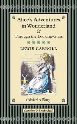 Book cover for Alice's Adventures in Wonderland...