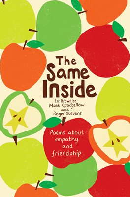 Book cover for The Same Inside: Poems about Empathy and Friendship